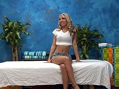 Blonde masseuse ready to seduce